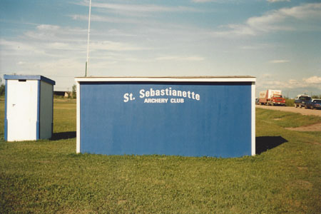 St Sebastianette shelter  - photo by Madeleine Delbaere